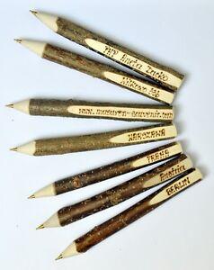 Kugelschreiber-aus-Haselnuss-100-Stueck-Holz-Kuli-Ast-Kugelschreiber