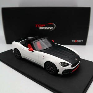 TOP-Speed-1-18-Abarth-124-Spider-Turini-1975-White-TS0077-Limited-Edition-Models