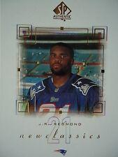 Nc5 J.R. redmond New England Patriots Topps 2000 sp Authentic
