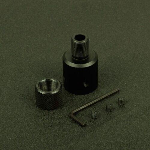 Ruger 1022 10//22 Muzzle Brake Adapter 1//2x28 5//8x24 .750 Barrel Thread protector