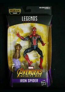 Rare-Iron-Spider-Man-Action-Figure-Hasbro-Jouets-Marvel-Legends-Avengers-Issue