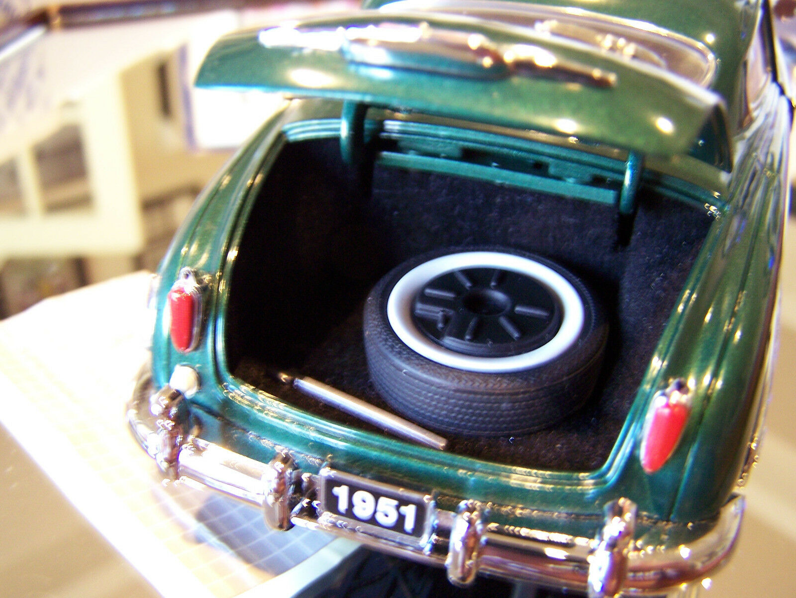 Franklin mint 1951 grüne hudson hornet mint keine kiste oder papiere