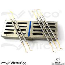 Amalgam Filling Tool Dental Composite Set Ortho with Sterilization Rack Cassette