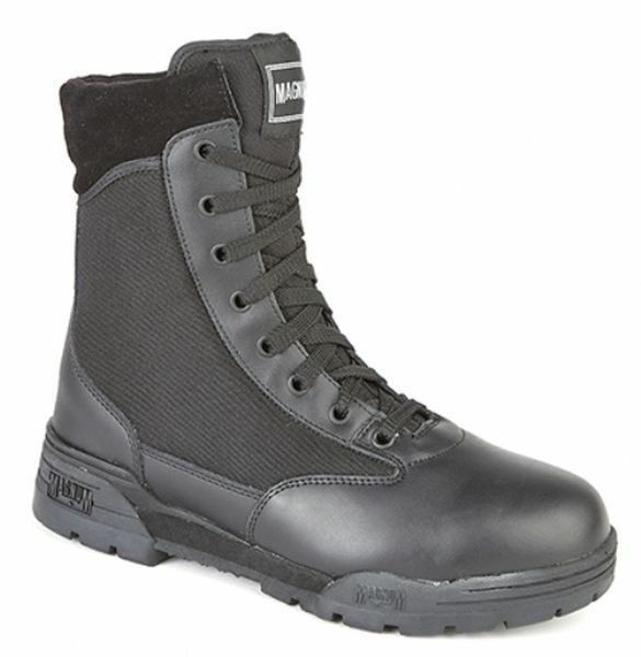 MENS SIZE 4 5 5 6 7 8 9 10 11 12 13 14 BLACK MAGNUM CLASSIC ARMY MILITARY BOOTS