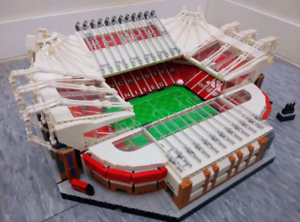 HOT SALE!4150Pcs Old Trafford Manchester United City Street View Building blocks