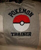 Pokemon Pokeball Gray Adult Small T-shirt (nwt) Great Gift For Pokemon Lovers