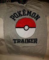 Pokemon Pokeball Gray Adult Small T-shirt (nwt) Great Gift For Pokemon Lovers