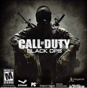 Call of Duty Black Ops Steam key PC Region Free Global