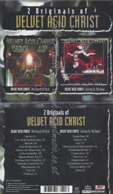 CD--CALLING OF THE DEAD | DOPPEL-CD/ VELVET ACID CHRIST--THE CHURCH OF ACID