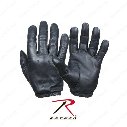 Black Ultra Thin Cowhide Leather Glove Rothco Search Gloves