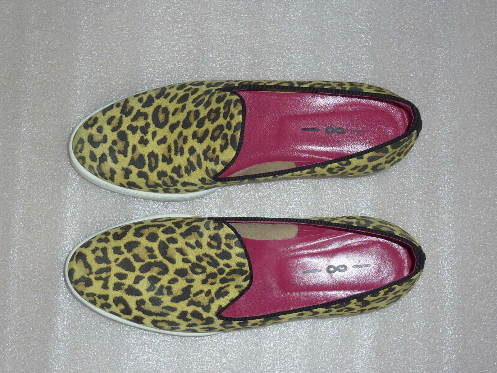 Italienische Designerschuhe 181 uno Schlupfschuhe 8 uno Leomuster 38 Schlupfschuhe uno scarpe loaf 9efc5b