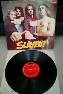 Slade-Slayed-Vinyl-12-034-A1-B1-1st-Press-LP-Polydor-2383-163-1972