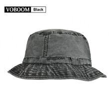 3f3ce246fb Bucket Hat Cap Cotton Fishing Boonie Brim visor Sun Safari Summer Men  Camping