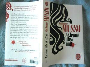 Details Sur Livre De Poche Book Buch Guillaume Musso La Jeune Fille Et La Nuit Thriller Tv5