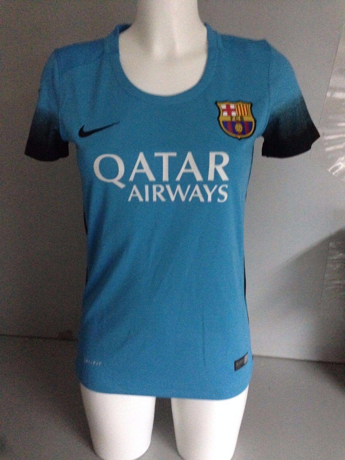 1a0e5b64f21 BNWT genuine FC Barcelona women jersey 15 16 third - nrwkhk2301-Women
