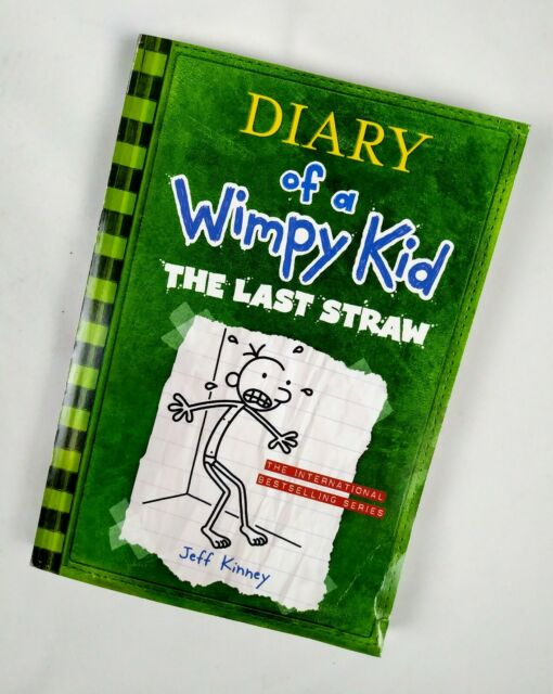 Diary Of A Wimpy Kid 03 The Last Straw By Jeff Kinney 9780810988217 For Sale Online Ebay