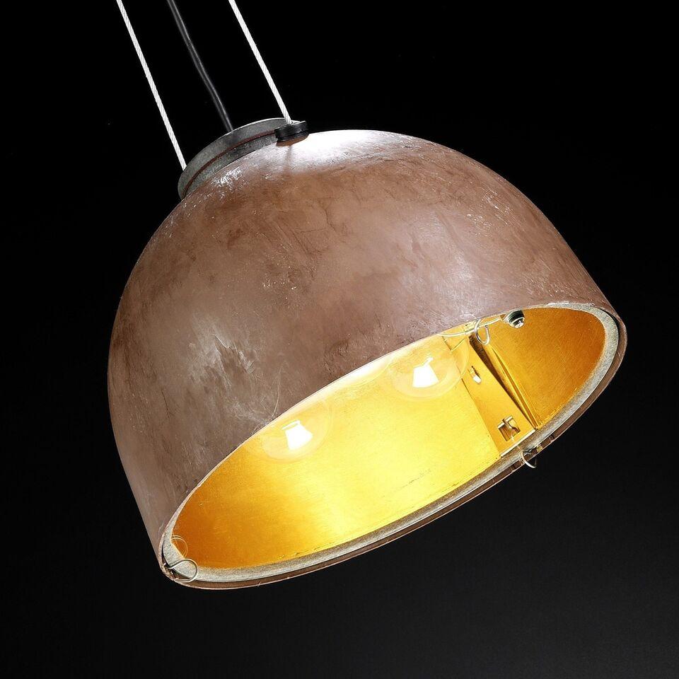 københavner lampe guld-sølv-kobber deluxe
