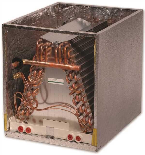 aspen dx treme cc cased upflow downflow ac evaporator coil 2 ton