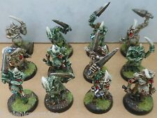 2001 Chaos Plaguebearers Lesser Daemons of Nurgle Citadel Pro Painted Warhammer