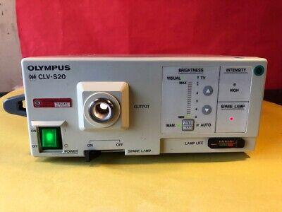 Bereidwillig Olympus Clv-s20 Light Source (1226) Hooggeprezen En Gewaardeerd Worden Door Het Consumerende Publiek
