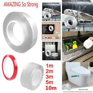 Multifunctional Double-sided nano Traceless Adhesive Seal Tape Gel Grip Kitchen