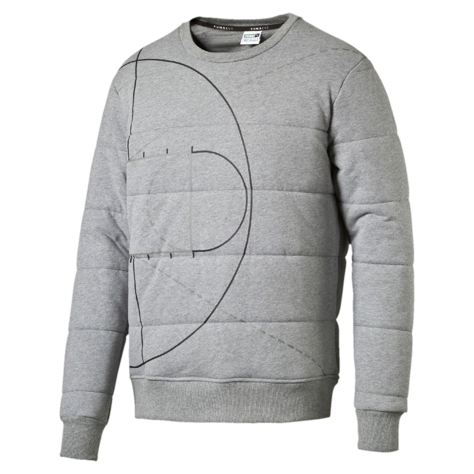 60% OFF   PUMA Evo Graphic Padded Sweatshirt / L & XL /   / Stunning