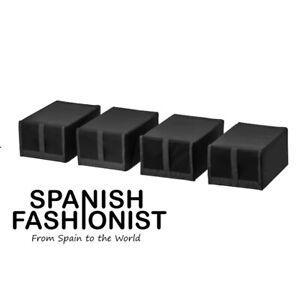 IKEA-SKUBB-Black-Shoe-box-black-22x34x16-cm-4-pack