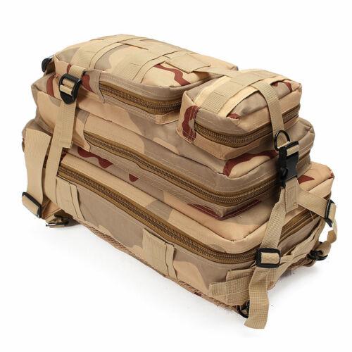 30L Sac à Dos 600D Nylon Militaire Armée Tactique Rucksack Backpack Voyage