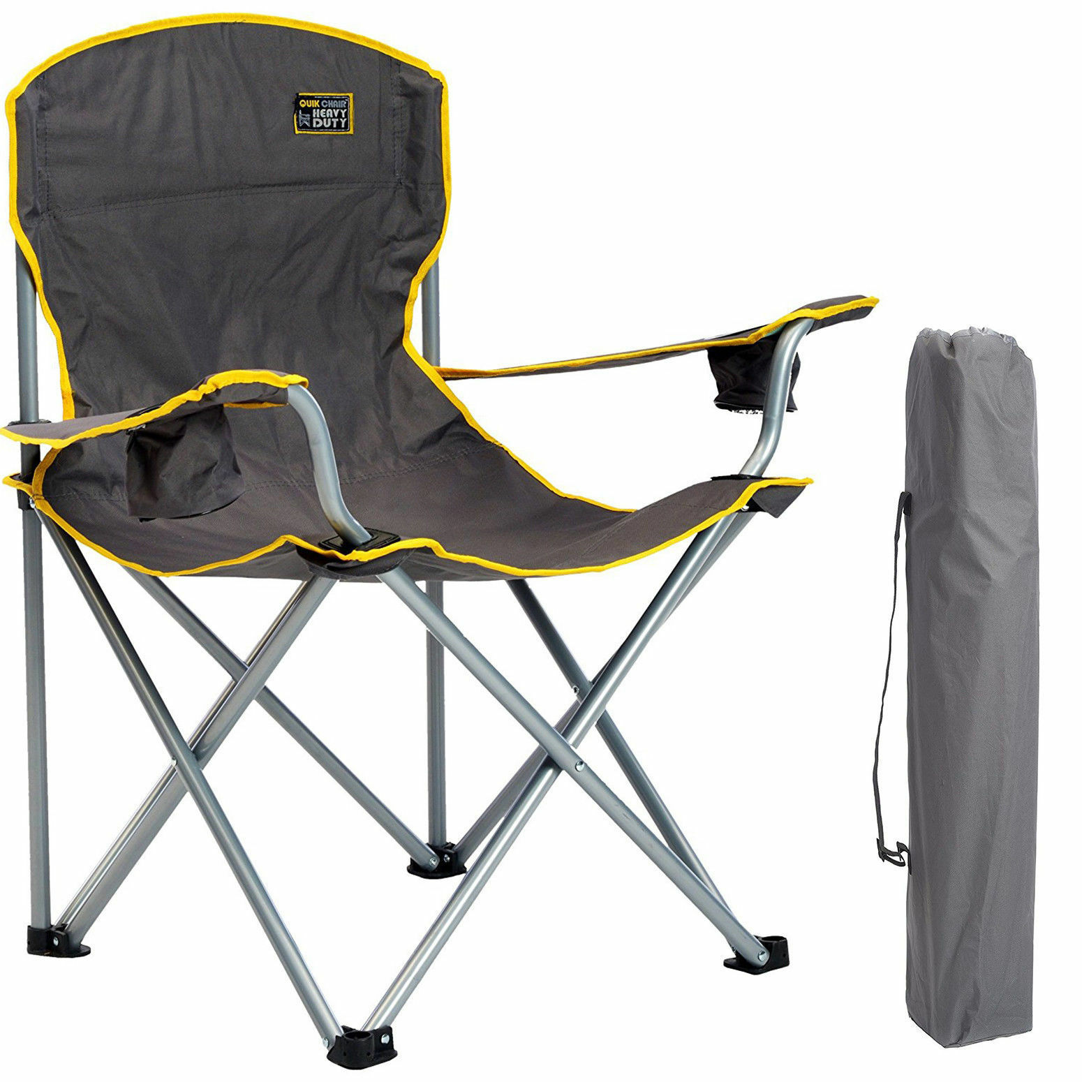 Heavy Duty Big  & Tall Outdoor Oversized XL Chair 500 Pds - Camping, Fishing, Ect  fashionable