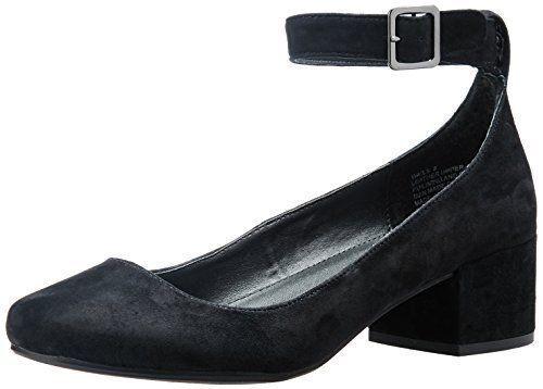 89 size 9 Steve Madden Wails Black Suede Ankle Straps Heels Pumps shoes NEW