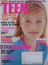 ANDREA January 1996 TEEN Magazine BRAD RENFRO / OASIS