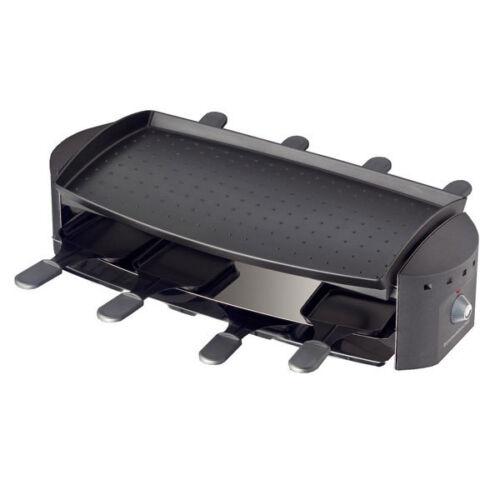 Rommelsbacher rc1200 OTTIMO Raclette Grill de Table Anti-Adhérent enduit 1200 W