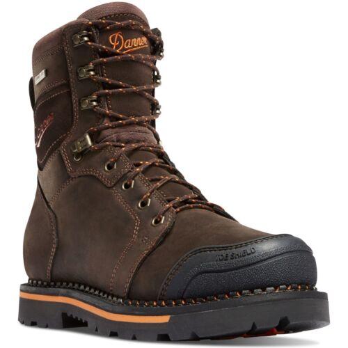 "Danner Men/'s 13241 Trakwelt 8/"" Brown Work EH Waterproof Leather Safety Boots"