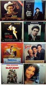 Video-Laserdisc-Lot-Of-8-Movies-Still-Sealed