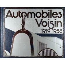 AUTOMOBILES VOISIN 1919-1958 - LIVRE D'OCCASION