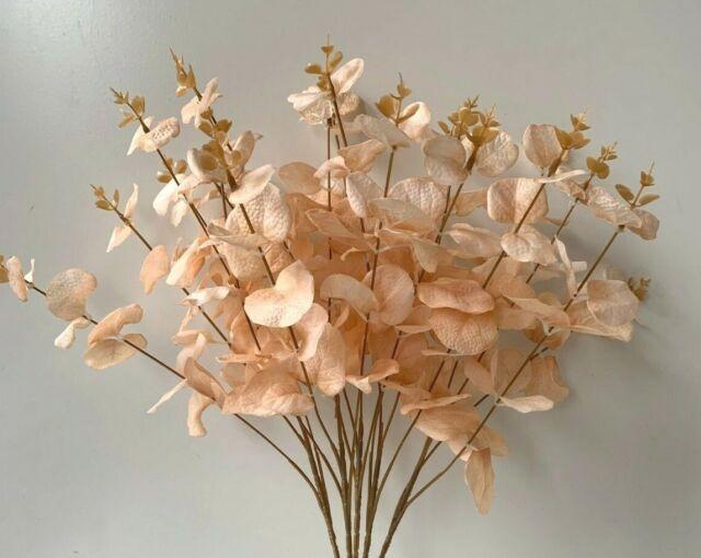 DRIED FLOWERS AUSTRALIAN NATIVE FLOWER GUM BUSH  EUCALYPTUS ARTIFICIAL FAKE STEM