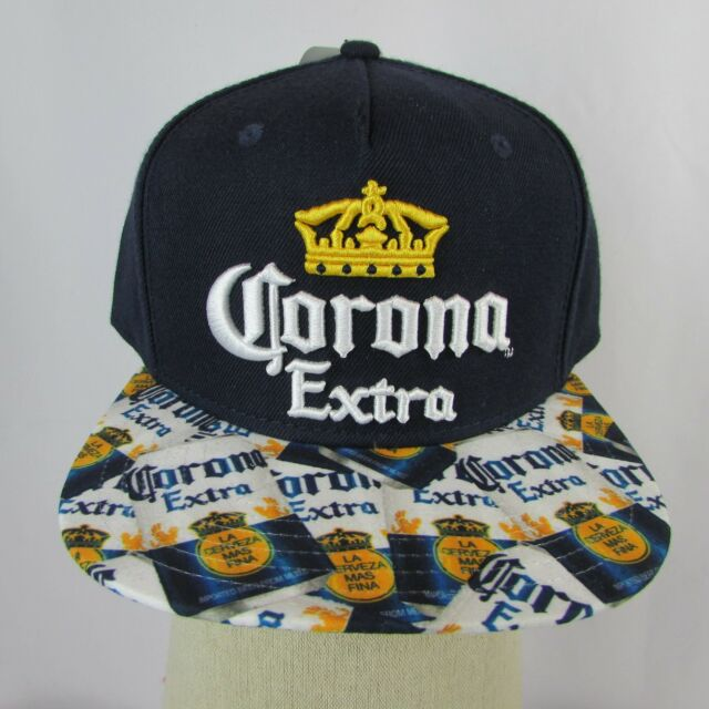 Corona Extra Flat Bill Snapback Quality EMBROIDERED Hat New Holigram 2671771