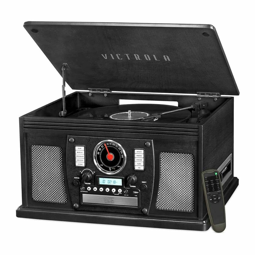 Victrola Navigator 8-in-1 Classic Bluetooth Record Player with USB Encoding | Ebay