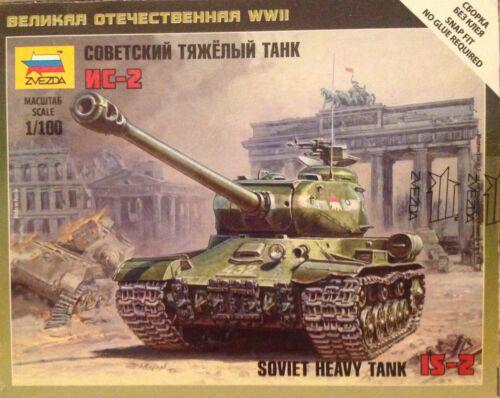 SOVIET HEAVY TANK IS-2 ZVEZDA 6201 scala 1//100 Art of tactic