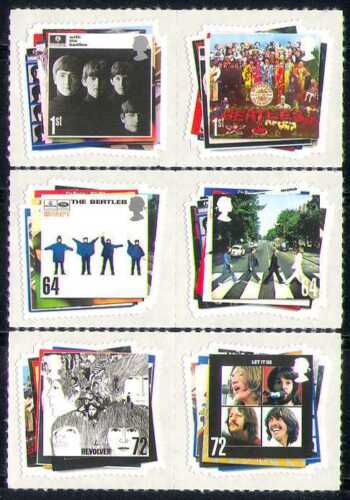 GB 2006 Beatles/Music/Entertainment 6v set s/a (n28690)