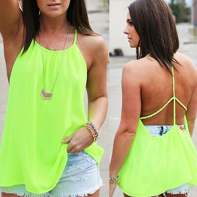 блузка Women Blouse Summer Tops Casual Sleeveless Chiffon Vest Tank Top Blouse