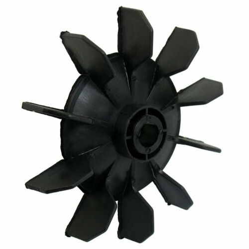 New Air Compressor Part Black Plastic 14mm Inner Dia Ten Vanes Motor Fan B S5M9