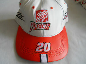 New-The-Home-Depot-Racing-20-Genuine-Leather-Hat-Cap-by-Modern-Made-in-USA