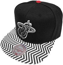 Mitchell & Ness NBA Miami Heat Zig Zag EU134 Snapback Caps Kappe Basecap New Neu