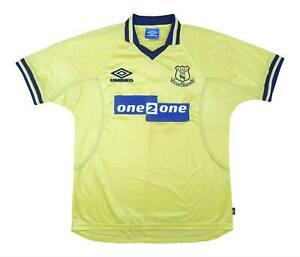 Everton 1998-99 Authentic THIRD SHIRT (eccellente) L soccer jersey