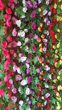 Joblot of 32 Silk Flower Garland Decorations new wholesale lot 7