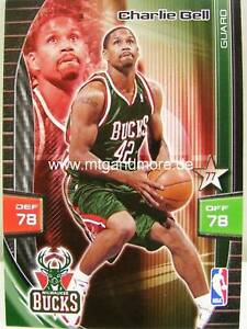 Panini nba Adrenalyn XL-Charlie Bell-Milwaukee 							 							</span>