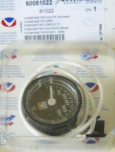 60081022 Thermomètre pour chaudière CHAFFOTEAUX /& MAURY CELTIC 2.28 CF HPS