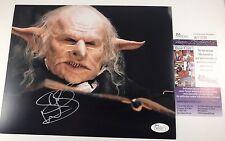 WARWICK DAVIS signed 8x10 Photo HARRY POTTER Head Goblin Gringotts Bank Teller