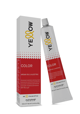 Yellow Hair Color Cream New Alfaparf With Argan Oil Aloetrix 100 Ml Tube Ebay